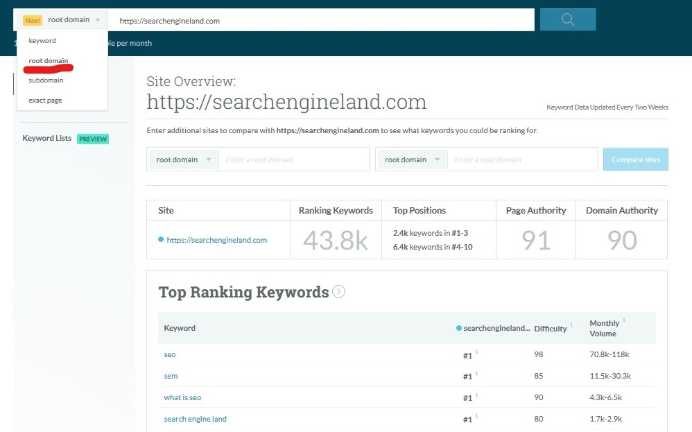 How to Do a Keyword Driven Content Audit 3