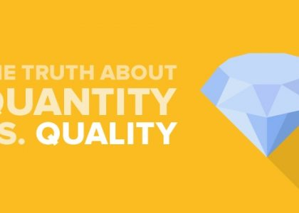 Content Is King, But What Matters Quantity Or Quality