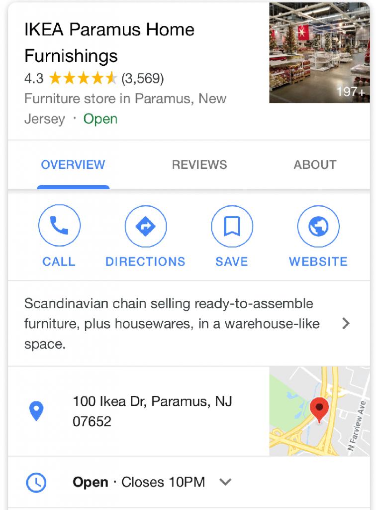 google-white-local-panel